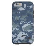 Caso del iPhone 6 del camuflaje de la marina de