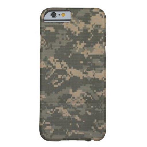 Caso del iPhone 6 del camuflaje del ACU Camo Funda De iPhone 6 Barely There