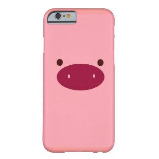 caso del iPhone 6 del cerdo Funda Para iPhone 6 Barely There