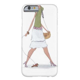 Caso del iPhone 6 del chica de la moda Funda De iPhone 6 Slim