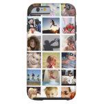 Caso del iPhone 6 del collage de la foto del Funda De iPhone 6 Tough