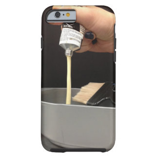 Caso del iPhone 6 del COLOR del PELO Funda De iPhone 6 Tough