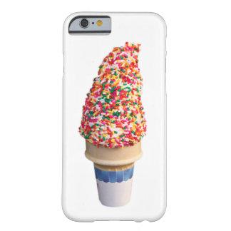 Caso del iPhone 6 del cono de helado Funda De iPhone 6 Barely There