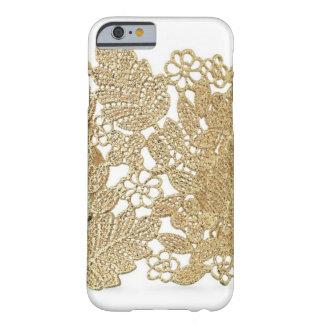 Caso del iPhone 6 del cordón del oro de Artandra Funda Para iPhone 6 Barely There