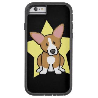 Caso del iPhone 6 del Corgi Galés del Pembroke de Funda De iPhone 6 Tough Xtreme