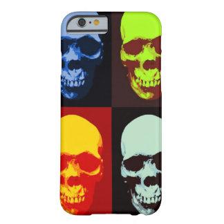 Caso del iPhone 6 del cráneo del arte pop Funda Para iPhone 6 Barely There