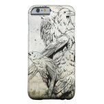 Caso del iPhone 6 del cuervo del Grunge del