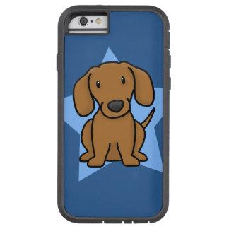 Caso del iPhone 6 del Dachshund de Kawaii Funda Tough Xtreme iPhone 6