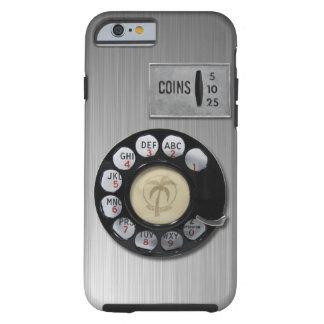 Caso del iPhone 6 del dial rotatorio del vintage Funda De iPhone 6 Tough