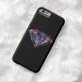 Caso del iPhone 6 del diamante de la galaxia Funda De iPhone 6 Barely There
