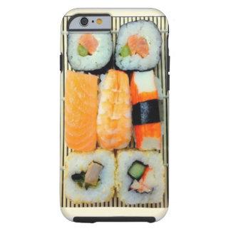 Caso del iPhone 6 del disco del sushi Funda De iPhone 6 Tough