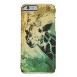 Caso del iPhone 6 del diseño de la jirafa
