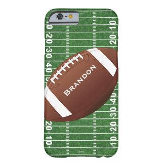 Caso del iPhone 6 del diseño del fútbol Funda De iPhone 6 Barely There