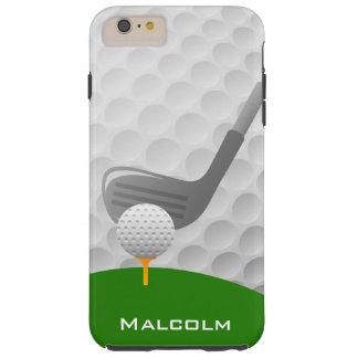 Caso del iPhone 6 del diseño del golf Funda De iPhone 6 Plus Tough