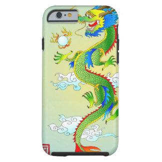 Caso del iPhone 6 del dragón del emperador