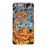 Caso del iPhone 6 del dragón y de Phoenix Funda De iPhone 6 Barely There