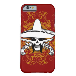 Caso del iPhone 6 del EL Bandito Funda De iPhone 6 Barely There
