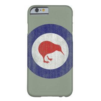 Caso del iPhone 6 del emblema de Nueva Zelanda Funda Para iPhone 6 Barely There