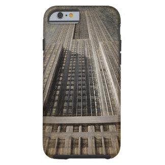 Caso del iPhone 6 del Empire State Building Funda Para iPhone 6 Tough