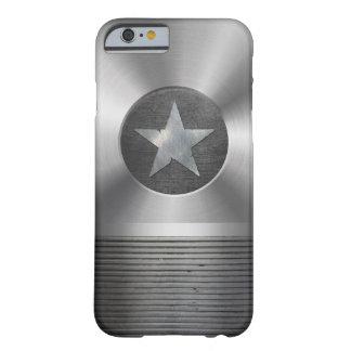 Caso del iPhone 6 del escudo de la estrella del Funda De iPhone 6 Barely There