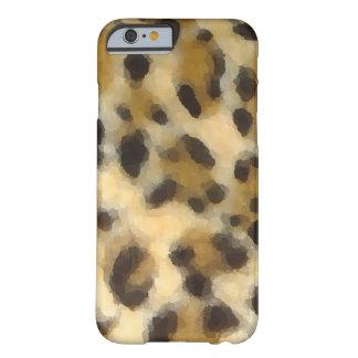 Caso del iPhone 6 del estampado leopardo de la Funda De iPhone 6 Barely There