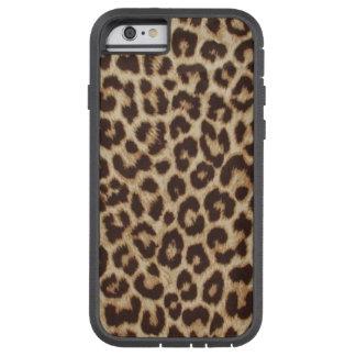 Caso del iPhone 6 del estampado leopardo Funda Para iPhone 6 Tough Xtreme