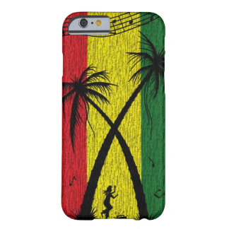 Caso del iPhone 6 del estuche rígido del reggae Funda Barely There iPhone 6