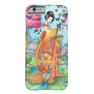 Caso del iPhone 6 del geisha de Maiko del verano Funda De iPhone 6 Slim