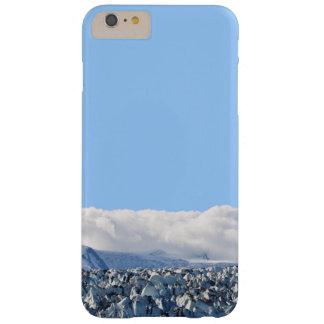 Caso del iPhone 6 del glaciar y de las nubes de Funda Para iPhone 6 Plus Barely There