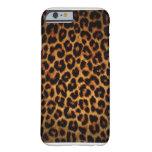 Caso del iPhone 6 del guepardo Funda De iPhone 6 Barely There