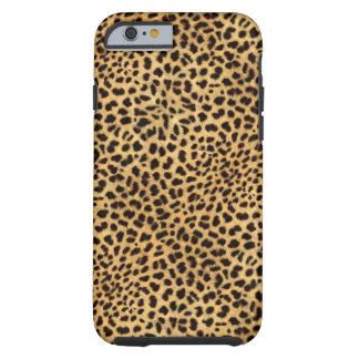 Caso del iPhone 6 del guepardo Funda Resistente iPhone 6