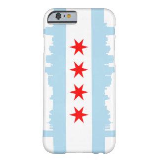 Caso del iPhone 6 del horizonte de la bandera de Funda Barely There iPhone 6