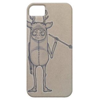 Caso del iPhone 6 del individuo de los ciervos iPhone 5 Case-Mate Funda