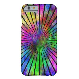 Caso del iPhone 6 del instinto del arco iris Funda De iPhone 6 Barely There