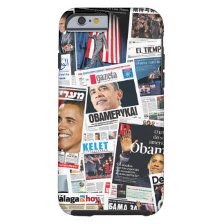 Caso del iPhone 6 del International de Obama 2008 Funda De iPhone 6 Tough