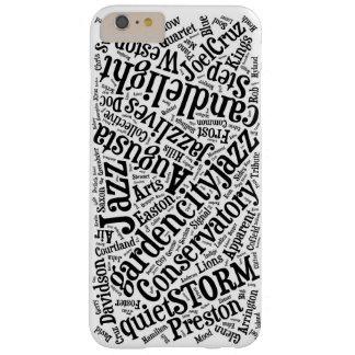 Caso del iPhone 6 del jazz de Augusta Funda Barely There iPhone 6 Plus