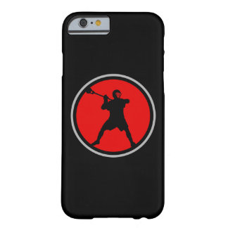 Caso del iPhone 6 del jugador de LaCrosse Funda De iPhone 6 Barely There