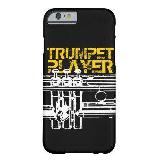 Caso del iPhone 6 del jugador de trompeta Funda De iPhone 6 Barely There