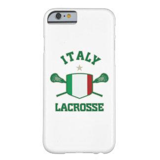 Caso del iPhone 6 del lacrosse de Italia Funda Barely There iPhone 6