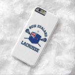 Caso del iphone 6 del lacrosse de Nueva Zelanda Funda De iPhone 6 Barely There