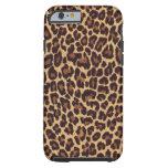 Caso del iPhone 6 del leopardo