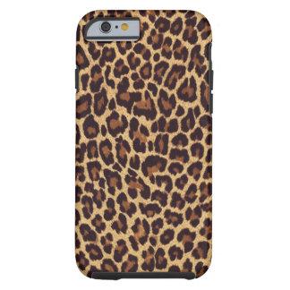 Caso del iPhone 6 del leopardo Funda Resistente iPhone 6