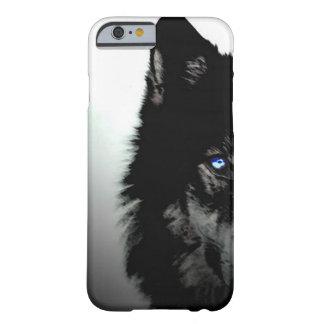 Caso del iPhone 6 del lobo Funda Para iPhone 6 Barely There