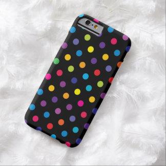Caso del iPhone 6 del lunar del caramelo Funda Barely There iPhone 6