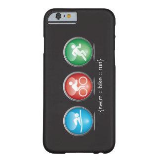 Caso del iPhone 6 del Nadada-Bici-Run del Funda Para iPhone 6 Barely There