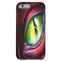 Caso del iPhone 6 del ojo del dragón Funda De iPhone 6 Tough