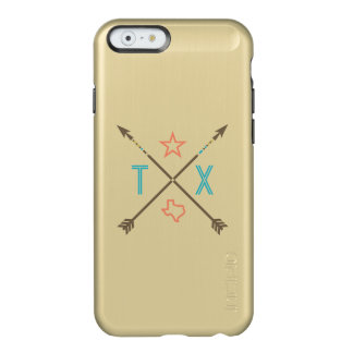 Caso del iPhone 6 del oro del sudoeste de las Funda Para iPhone 6 Plus Incipio Feather Shine