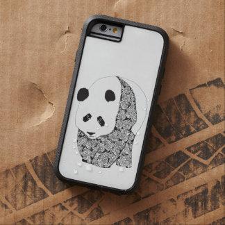 Caso del iPhone 6 del oso de panda gigante Funda De iPhone 6 Tough Xtreme