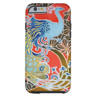 Caso del iPhone 6 del pájaro de Nouveau del arte Funda Para iPhone 6 Tough