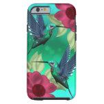 Caso del iPhone 6 del pájaro del tarareo Funda De iPhone 6 Tough